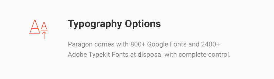 Typography Options