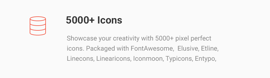 5000+ Iconos